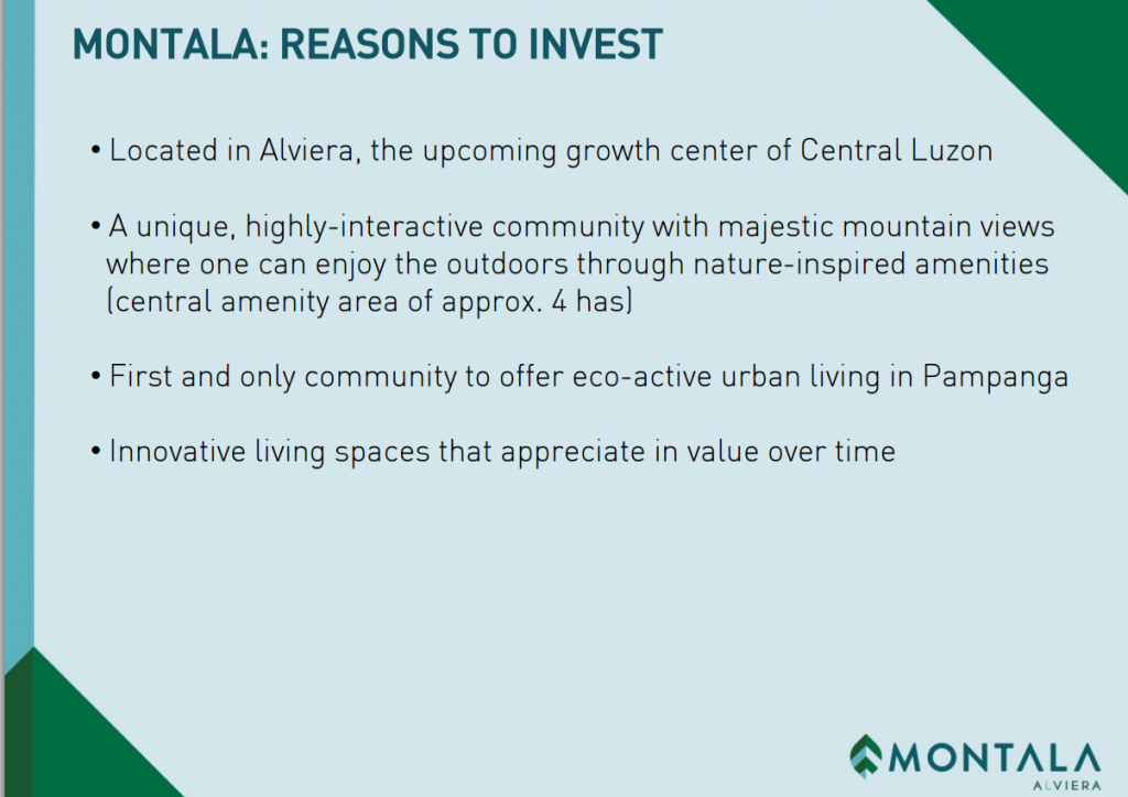 montala reasons to invest